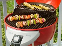 Temperature Drops Quickly When Opening Grill Charbroil Patiobistro Red Grillopen Sm